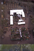 markt vanaf olv toren amersfoort