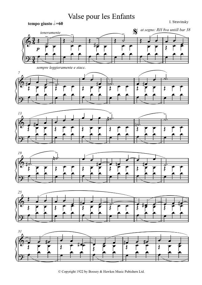 igor stravinsky music free download